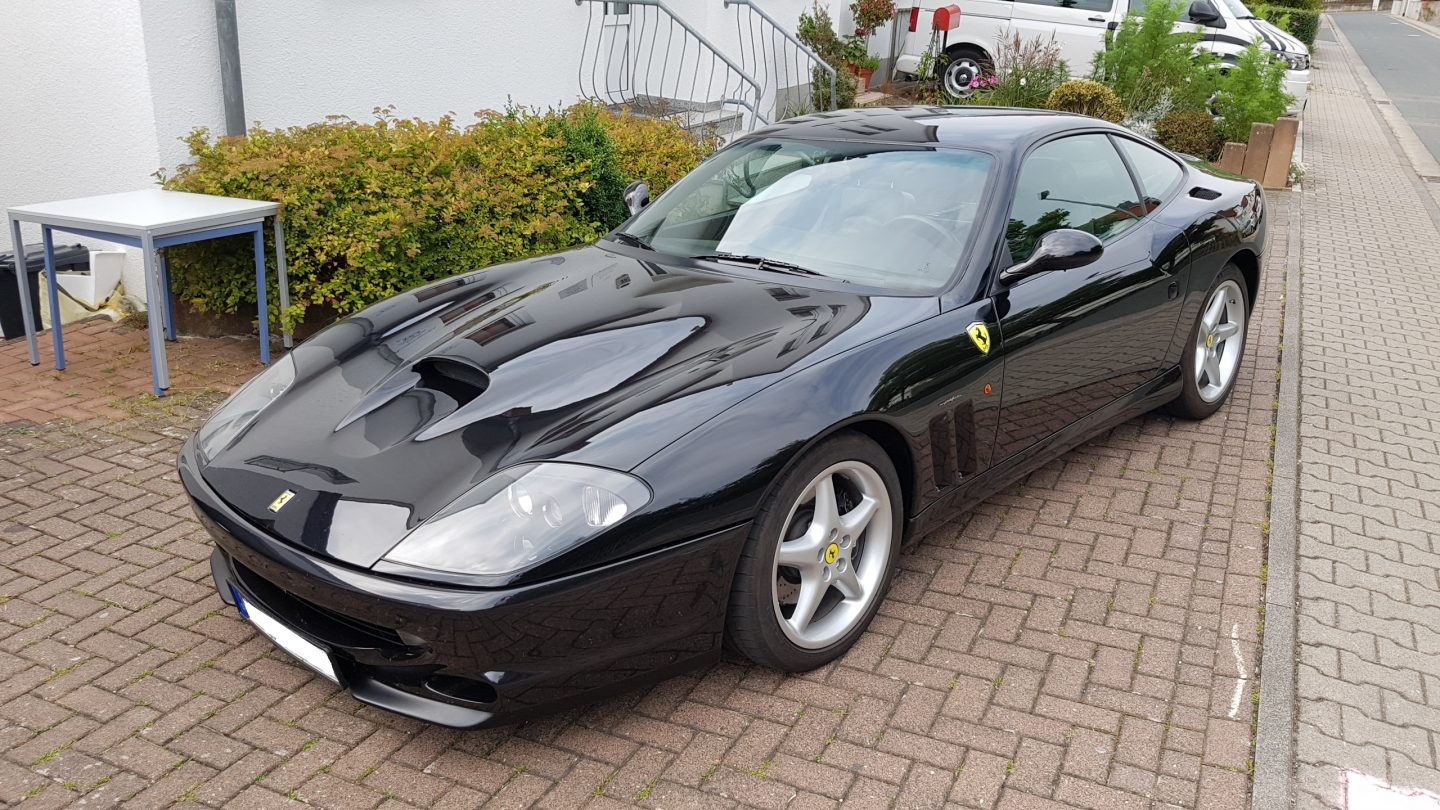 versicherung f r ferrari 550 maranello sportwagen. Black Bedroom Furniture Sets. Home Design Ideas