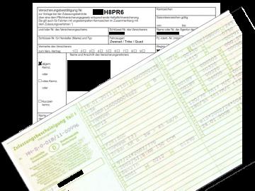 Zulassungsunterlagen